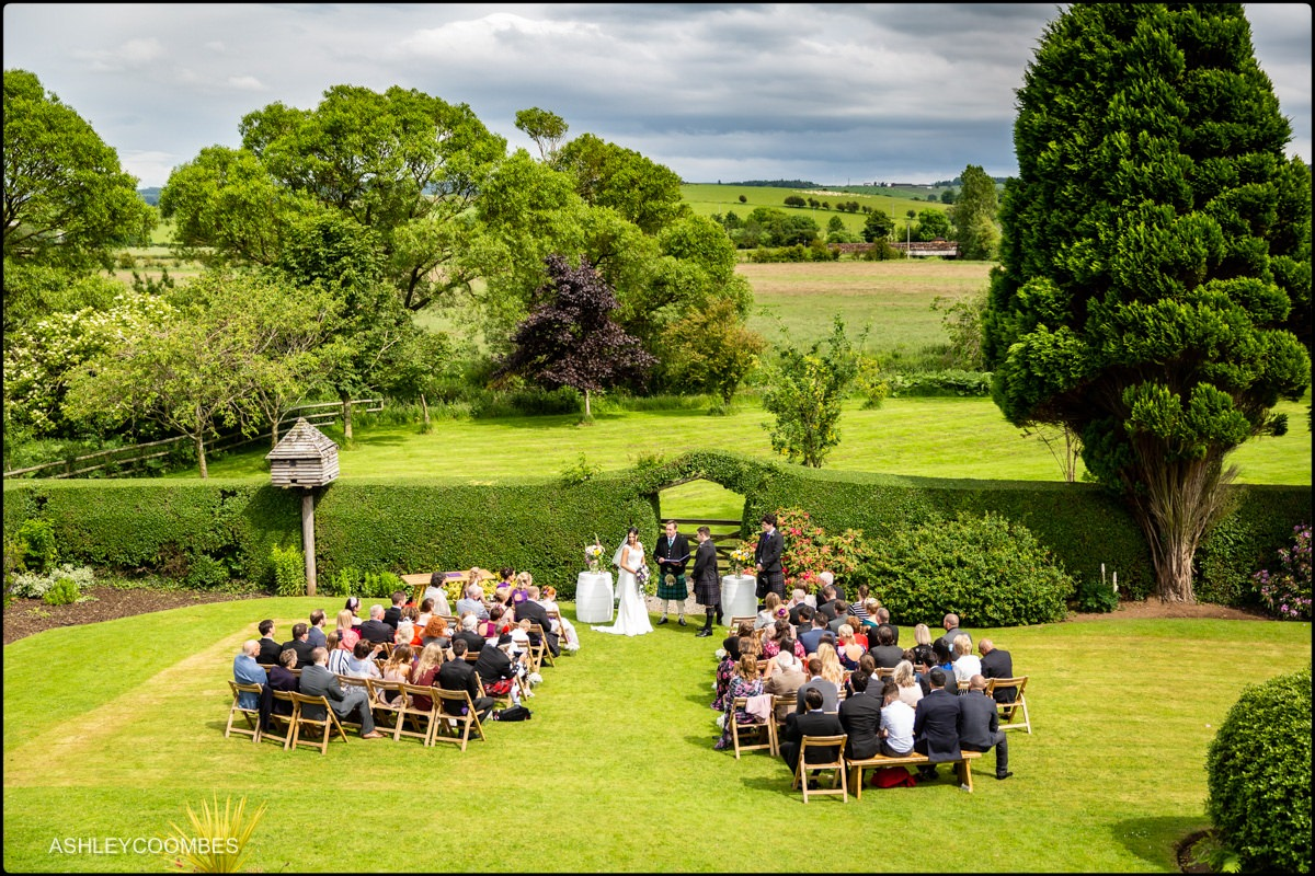Wedding Ceremony Dalduff Farm