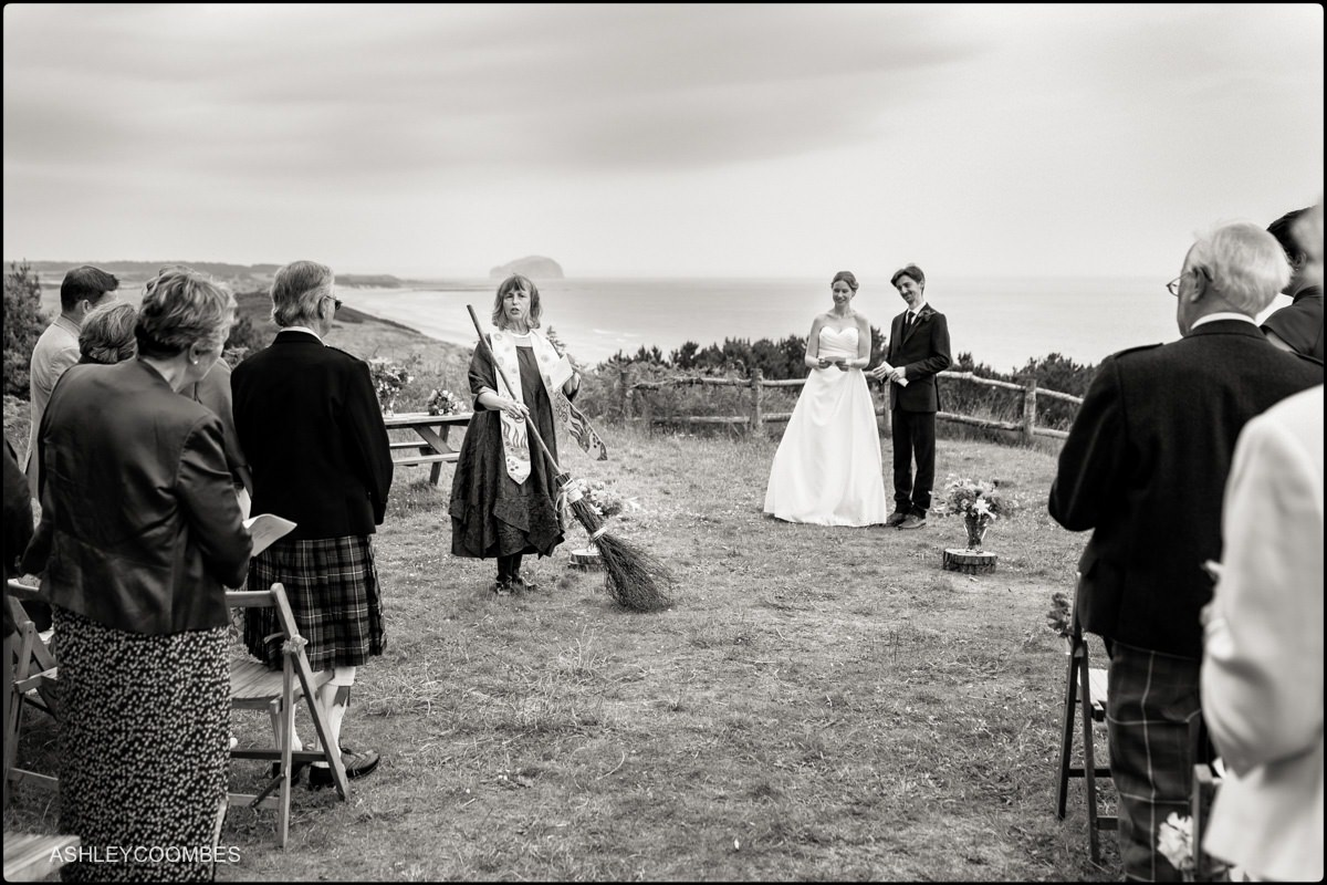 Wedding broom Ravensheugh