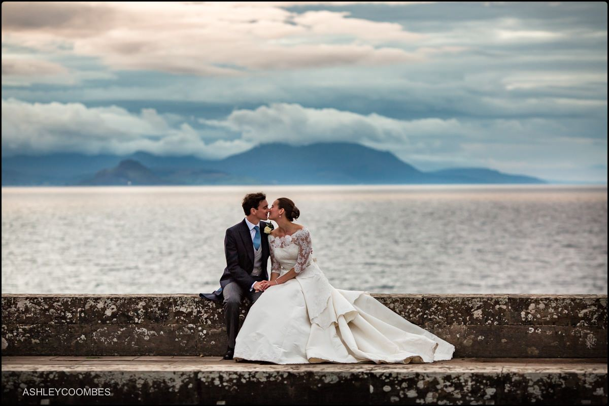 Culzean wedding portrait