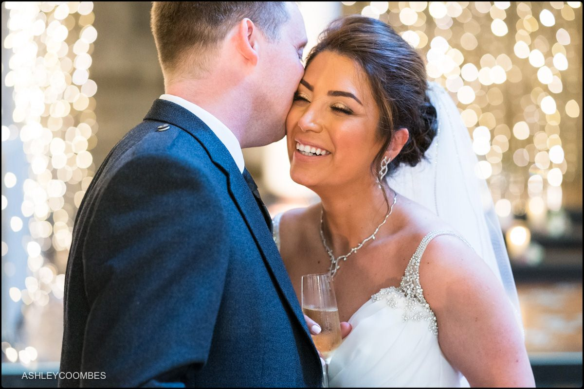 Mansfield Traquair Wedding portrait